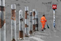 säulen-metro