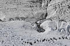 """""""Was bleibt ist nur die Illusion eines Gletschers 1 """", 2015, 80x120cm, Digitale Fotografie bearbeitet, Fotoabzug Kodak Endura"""